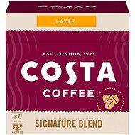 Costa Coffee Signature Blend Latte 8 porcí - kompatibilní s kávovary Nescafé® Dolce Gusto - Kávové kapsle