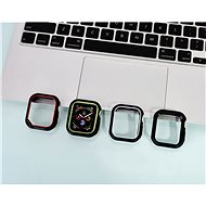 COTEetCI pouzdro z polyuretanu a termoplastu pro Apple Watch 44 mm drsné  - Ochranný kryt