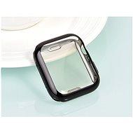 COTEetCI celoplošné ochranné termoplastové pouzdro pro Apple Watch 44 mm černé - Ochranný kryt
