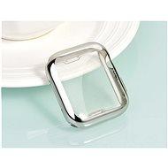 COTEetCI celoplošné ochranné termoplastové pouzdro pro Apple Watch 44 mm stříbrné - Ochranný kryt