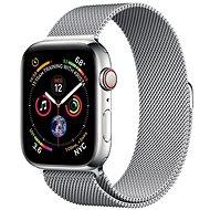 COTEetCI ocelový magnetický řemínek pro Apple Watch 38 / 40mm stříbrný - Řemínek
