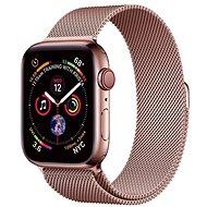 COTEetCI ocelový magnetický řemínek pro Apple Watch 42 / 44mm růžově-zlatý - Řemínek