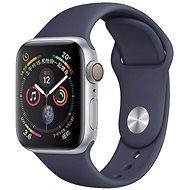 COTEetCI silikonový sportovní náramek pro Apple watch 42 / 44 mm půlnoční modrá - Řemínek