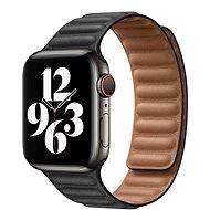 COTEetCI Double Suction kožený pásek pro Apple Watch 38 / 40 / 41 mm černá - Řemínek