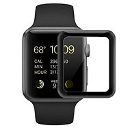 COTEetCI 4D sklo s celoplošným lepením s černým lemem pro Apple Watch 38 mm - Ochranné sklo