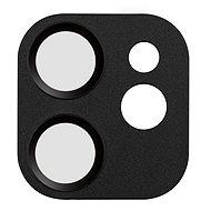 COTEetCI sklo na fotoaparát pro Apple iPhone 12 6.1'' černé - Ochranné sklo