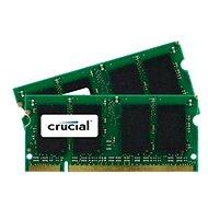 Crucial SO-DIMM 4GB KIT DDR2 800MHz CL6 - Operační paměť