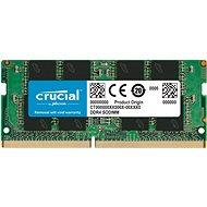 Crucial SO-DIMM 16GB DDR4 2400MHz CL17 Dual Ranked - Operační paměť