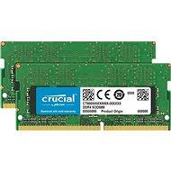 Crucial SO-DIMM 8GB KIT DDR4 2666MHz CL19 Single Ranked - Operační paměť