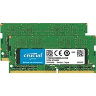 Crucial SO-DIMM 32GB KIT DDR4 2666MHz CL19 Dual Ranked - Operační paměť