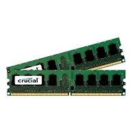 Crucial 2GB KIT DDR2 800MHz CL6 - Operační paměť