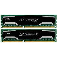 Crucial 16GB KIT DDR3 1600MHz CL9 Ballistix Sport - Operační paměť