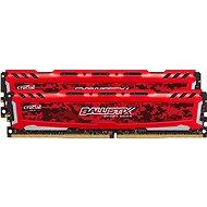 Crucial 8GB KIT DDR4 2666MHz CL16 Ballistix Sport LT Red - Operační paměť