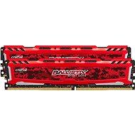 Crucial 8GB KIT DDR4 2400MHz CL16 Ballistix Sport LT Single Ranked Red - Operační paměť