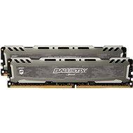 Crucial 16GB KIT DDR4 3000MHz CL15 Ballistix Sport LT Grey - Operační paměť