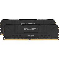 Crucial 16GB KIT DDR4 3000MHz CL15 Ballistix Black - Operační paměť