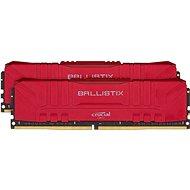 Crucial 16GB KIT DDR4 3000MHz CL15 Ballistix Red - Operační paměť