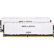 Crucial 16GB KIT DDR4 3000MHz CL15 Ballistix White - Operační paměť