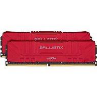 Crucial 16GB KIT DDR4 3200MHz CL16 Ballistix Red - Operační paměť