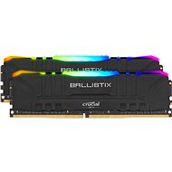 Crucial 32GB KIT DDR4 3200MHz CL16 Ballistix Black RGB - Operační paměť