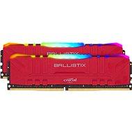 Crucial 16GB KIT DDR4 3600MHz CL16 Ballistix Red RGB - Operační paměť