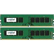 Crucial 8GB KIT DDR4 2400MHz CL17 Single Ranked - Operační paměť