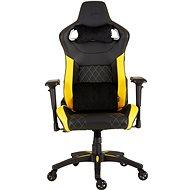 Corsair T1 2018, černo-žlutá - Herní židle