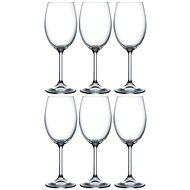 BOHEMIA CRYSTAL na víno LARA 250ml 6ks - Sklenice na víno