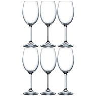 Crystalex Sklenice na víno LARA 250ml 6ks - Sklenice na víno