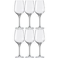 BOHEMIA CRYSTAL na víno REBECCA 460ml 6ks - Sklenice na víno