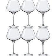 BOHEMIA CRYSTAL na víno REBECCA 590ml 6ks - Sklenice na víno
