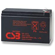CSB GP1272 F2, 12V, 7,2Ah - Nabíjecí baterie