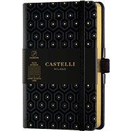 Zápisník CASTELLI MILANO Copper&Gold Honey, velikost S Gold