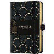 Zápisník CASTELLI MILANO Copper&Gold Deco, velikost S Gold