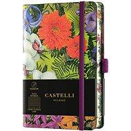 Zápisník CASTELLI MILANO Eden Orchid, velikost S