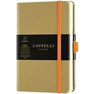 Zápisník CASTELLI MILANO Aqua Olive, velikost S