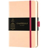 Zápisník CASTELLI MILANO Aqua Seashell, velikost S