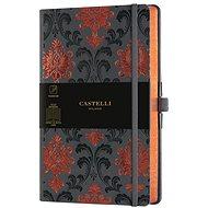 CASTELLI MILANO Copper&Gold Baroque, Size M Orange