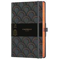 CASTELLI MILANO Copper&Gold Deco, Size M Gold