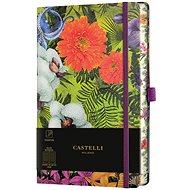 Zápisník CASTELLI MILANO Eden Orchid, velikostM