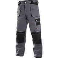 CXS Kalhoty do pasu ORION TEODOR šedo-černé, vel. 48 - Montérky