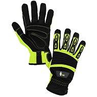 CXS Rukavice YEMA žluto-černá, vel. 9 - Pracovní rukavice