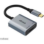 Čtečka karet AKASA SD a microSD USB C čtečka karet / AK-CR-10BK
