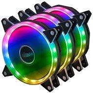 AKASA ARGB kit - 3x Akasa Vegas AR7 LED 12 cm / AK-FN107 - Ventilátor do PC
