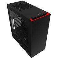 NZXT S340 černá/červená - Počítačová skříň