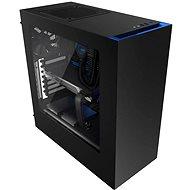 NZXT S340 černá/modrá - Počítačová skříň