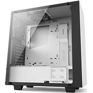 NZXT S340 Elite matná bílá - Počítačová skříň