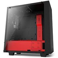 NZXT S340 Elite matná černá/červená - Počítačová skříň