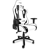 CONNECT IT Gaming Chair CGC-1160-WH, white - Herní židle