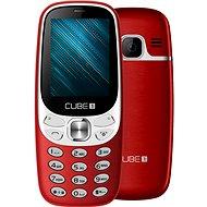 CUBE1 F500 červená - Mobilní telefon